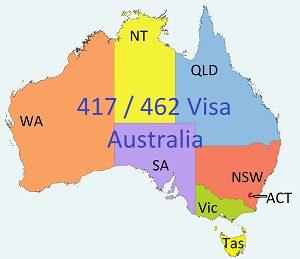 Australia 417-462 Visa