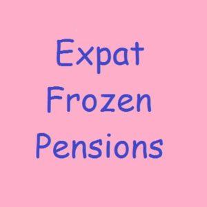 British Expat Frozen Pensions