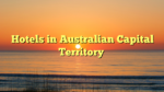 Hotels in Australian Capital Territory