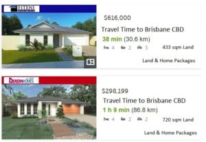 Land and Home 4 Bed Packages Aug 2016 near Brisbane