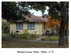 Median House 1950-60