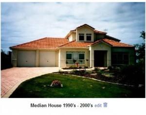 Median House 1990-2000