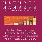 Natures Hampers Mothers Day 2016 300