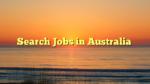 Search Jobs in Australia