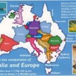 Australia and Europe Comparison