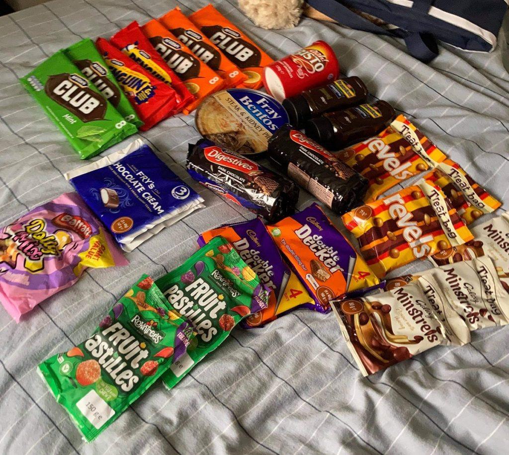 UK Sweets at ALDI Australia