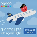 Agoda Fly For Less