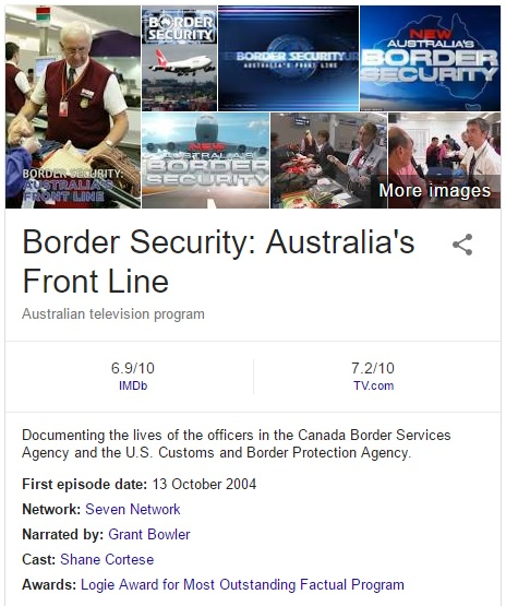 Border Security Australia confused with Canada
