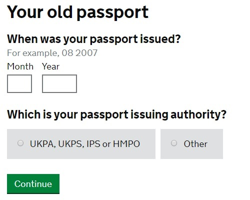 Renew your British Passport Online - Britzinoz