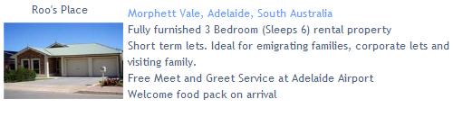 Roo's Place, Morphett Vale, Adelaide